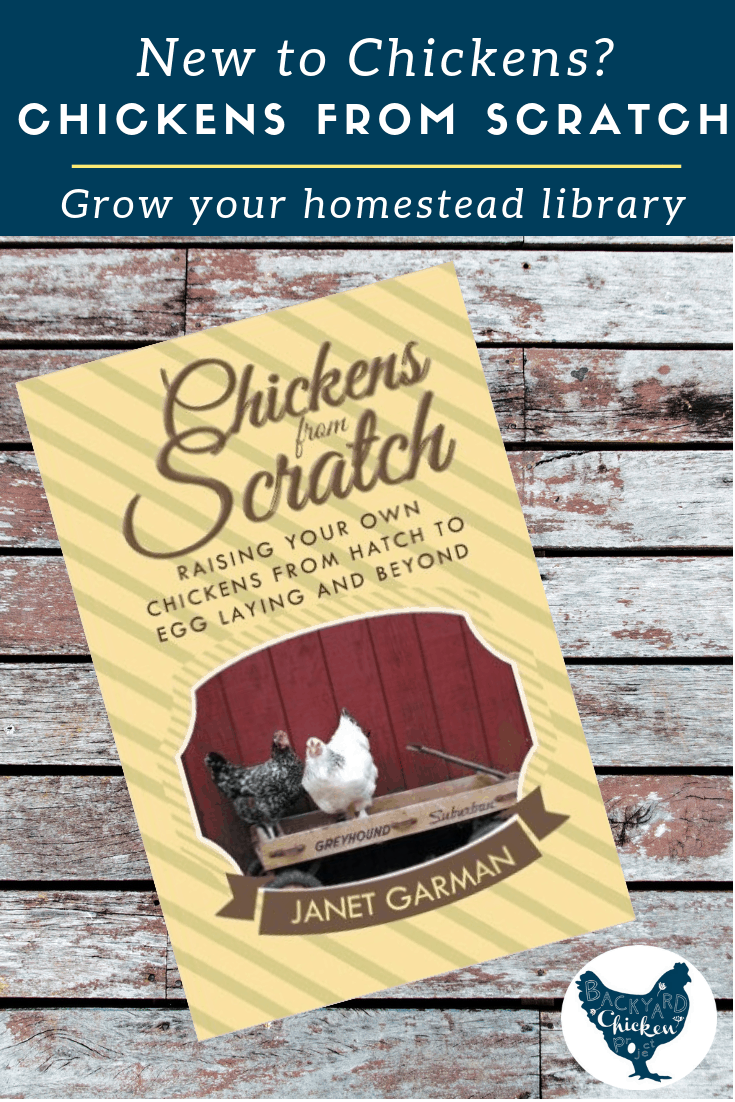 This delightful chicken book is great for beginners or those interested in raising chickens.