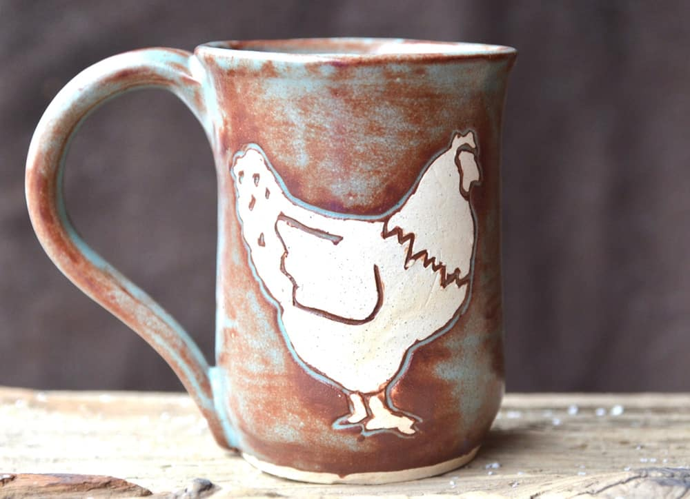 Show Your Love of Chickens with a Chicken Mug!