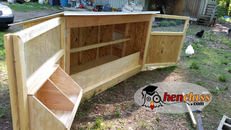 10 free chicken coop plans for Plans for a chicken coop for 12 chickens