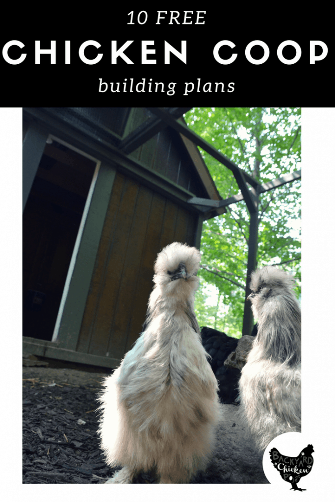 If you're planning to build a chicken coop, you won't want to miss this list! We have free plans for 10 different chicken coops!