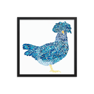 Polish Chicken Art Print