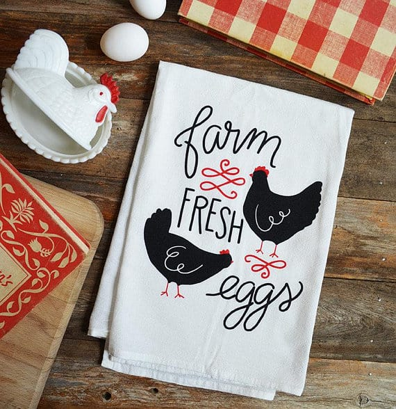 Chicken Gifts: Handtowel