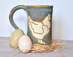 Chicken mug from ImaginAcres