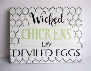12 Badass Chicken Coop Signs for your Gang of Chickens